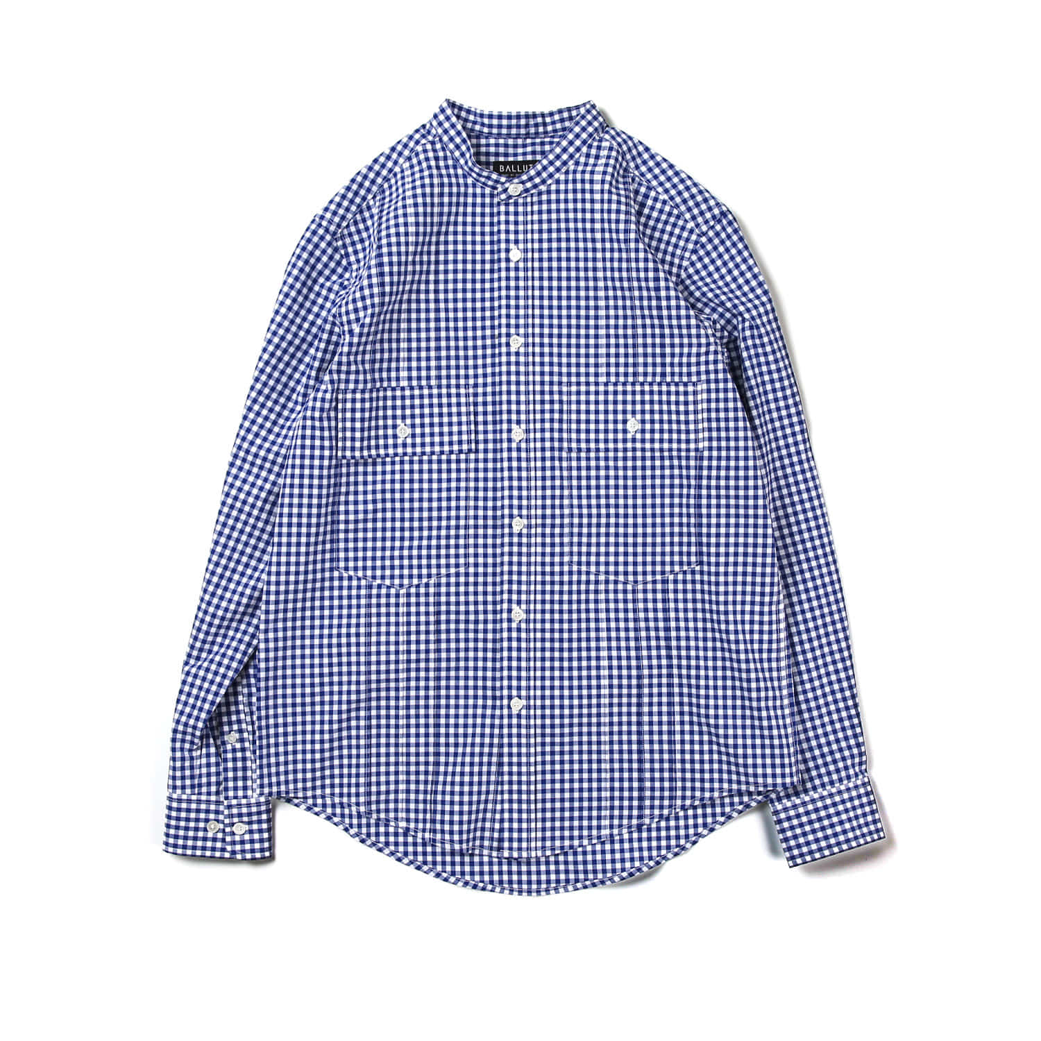 TUXEDO 2 POCKET SHIRT (GINGHAM CHECK)