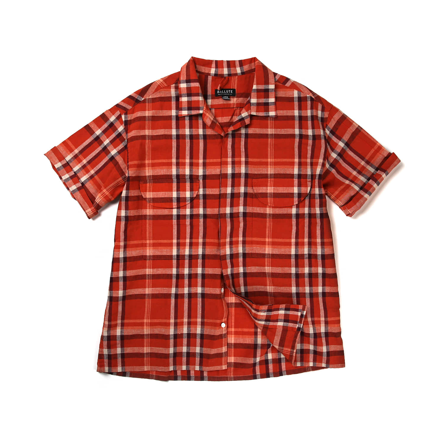 FRENCH EASY HALF SHIRT (ORANGE)