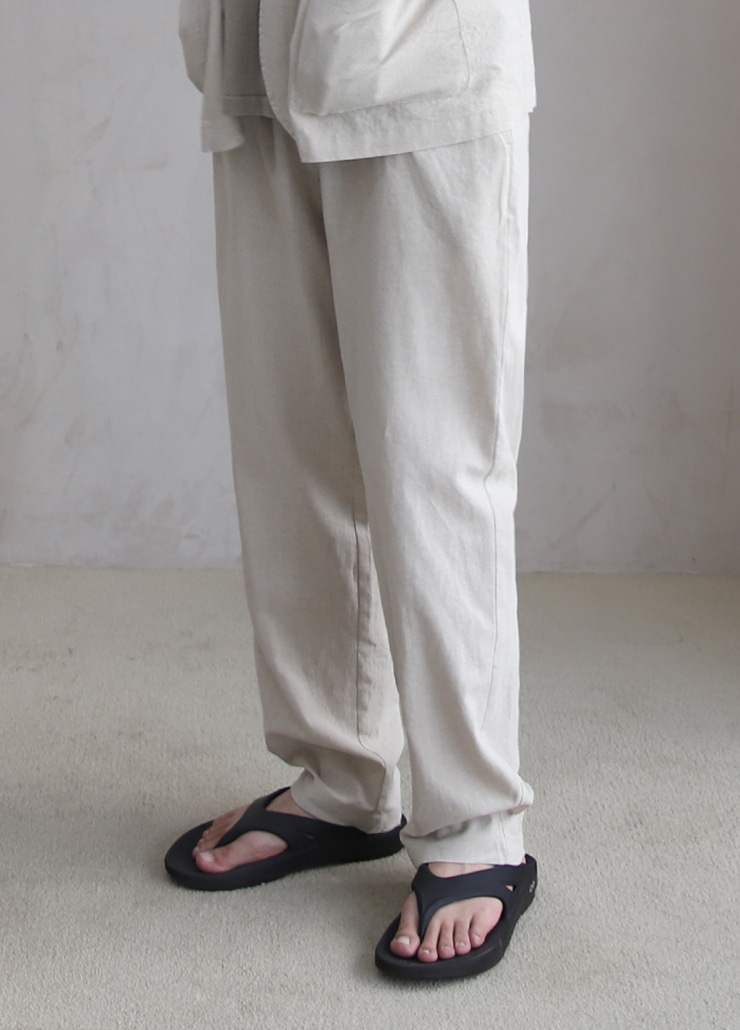 ALL WEATHE STANDARD PANTS IVORY (LINNEN)