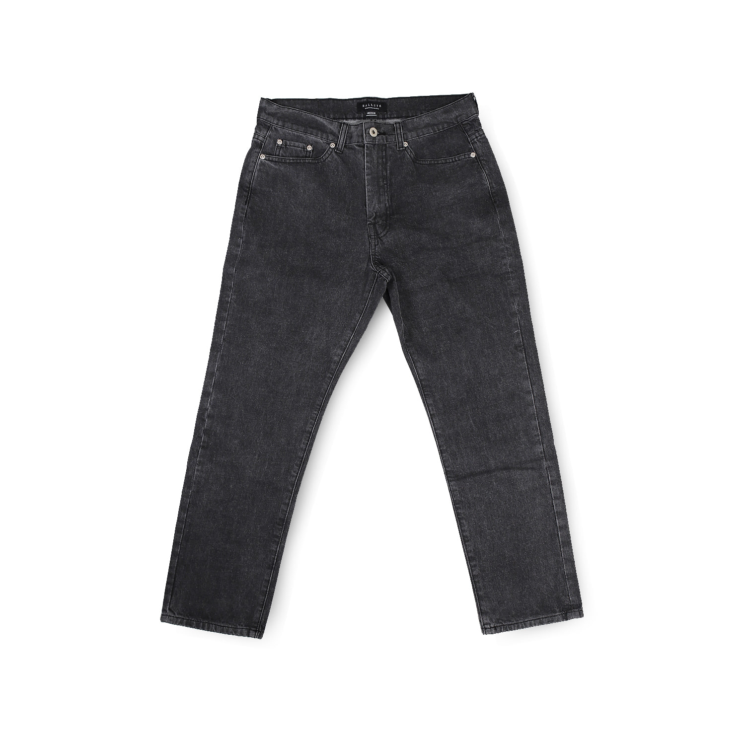 SIGNATURE DENIM PANTS (BLACK)