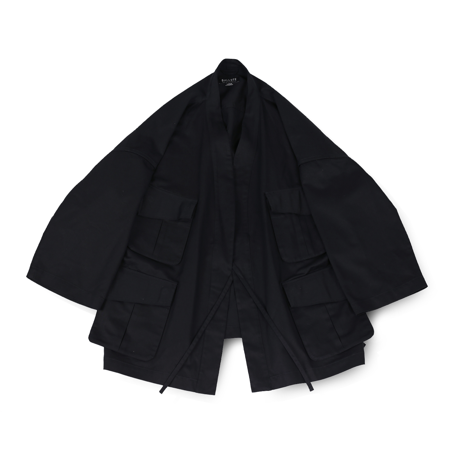 B.D.U ROBE JACKET (BLACK)