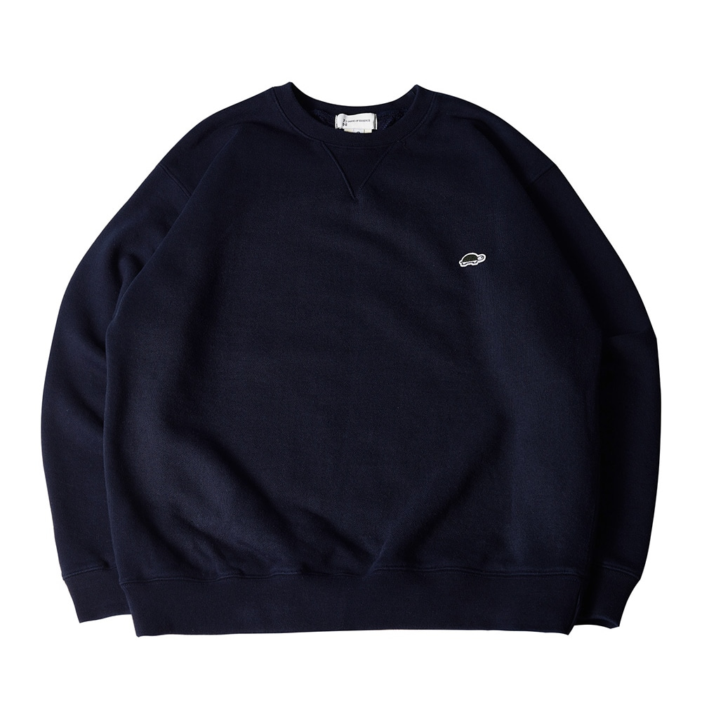 EMB LONG SLEEVE SWEATSHIRT NAVY