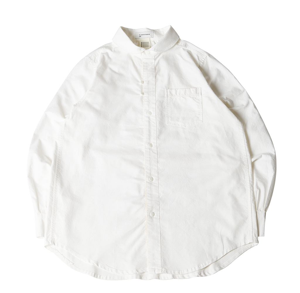BACK POCKET COMFY SHIRT WHITE