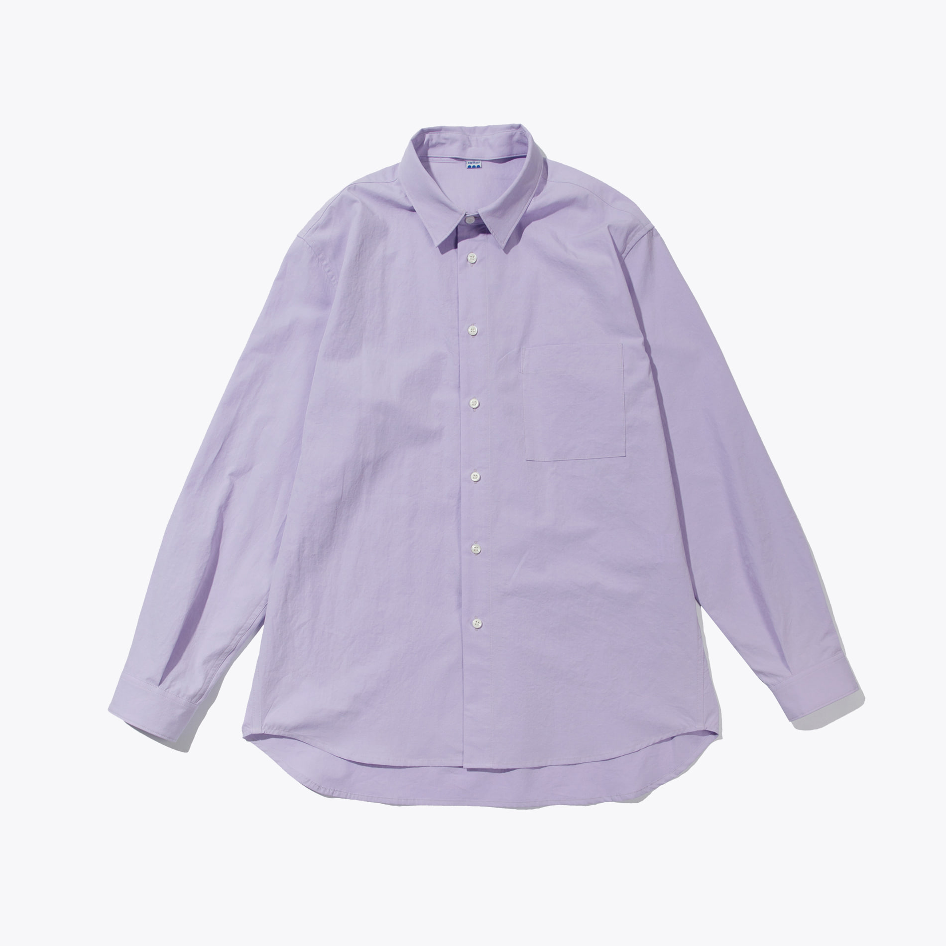 CHANGE COLLAR SHIRT PURPLE