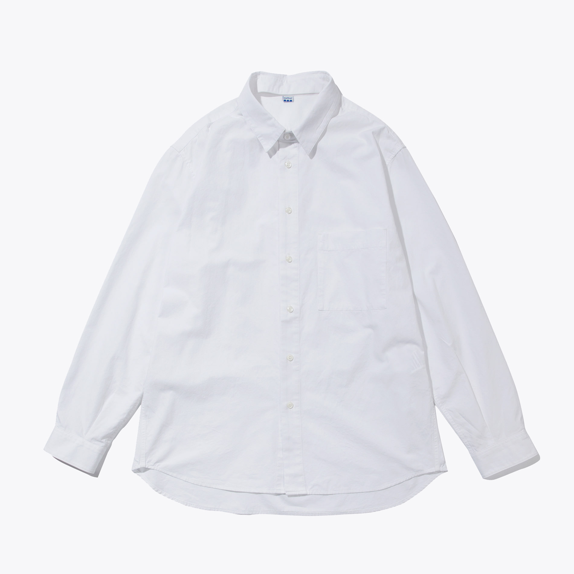 CHANGE COLLAR SHIRT WHITE