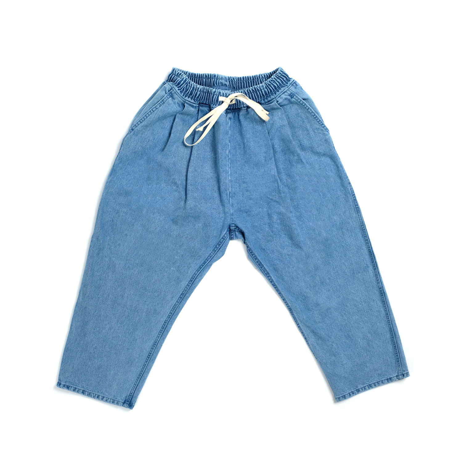 Easy Pants - Washed Blue