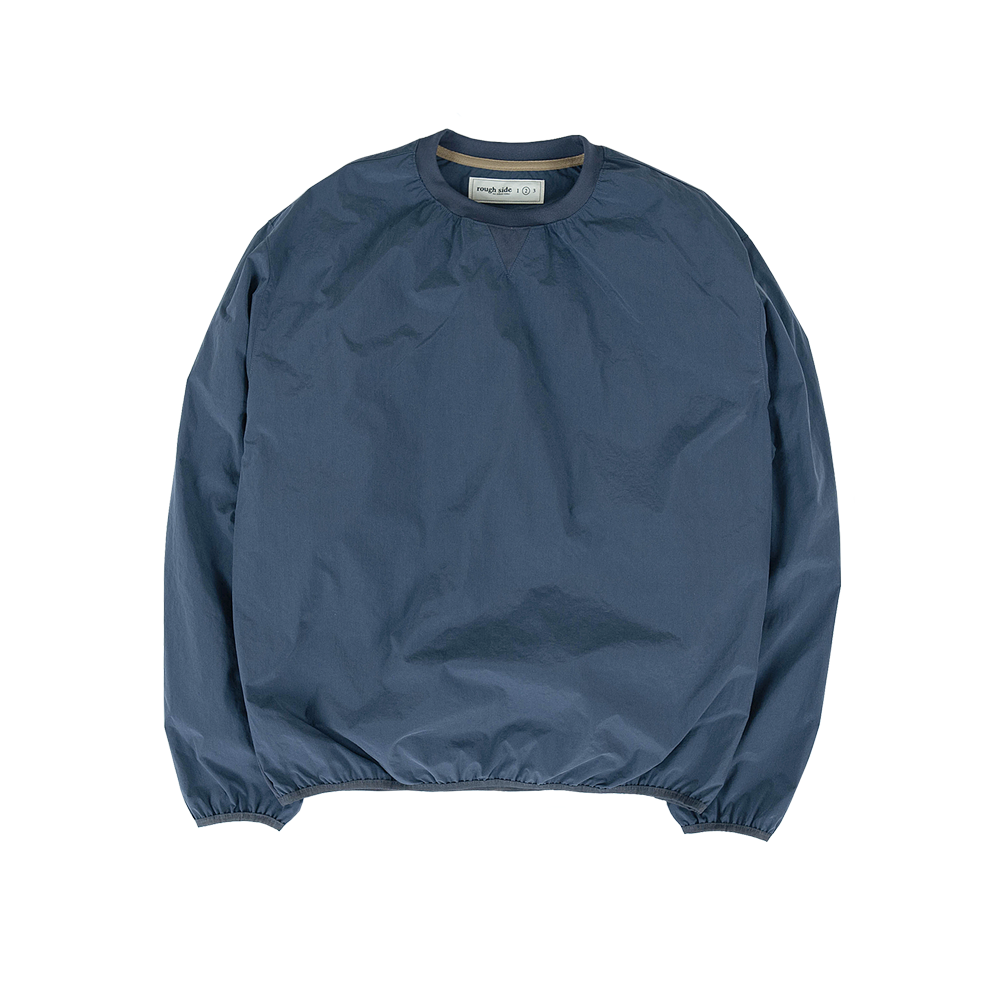 104. Shirring Pullover Shirts Navy