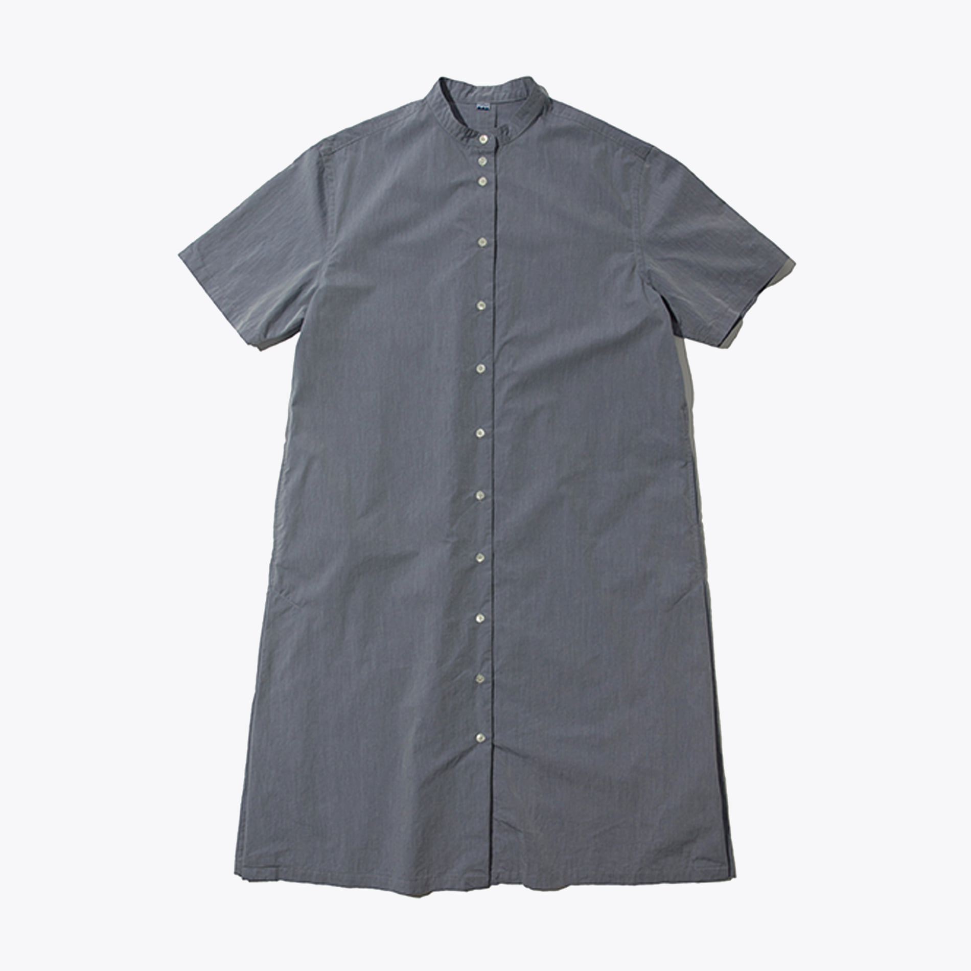 SHORT SLEEVES ONE-PIECE (CHAMBRAY)