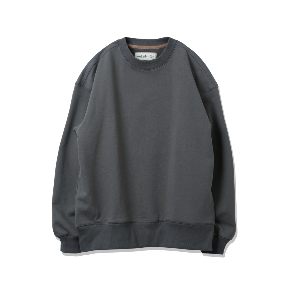 105. Oversized Sweat Shirts Charcoal