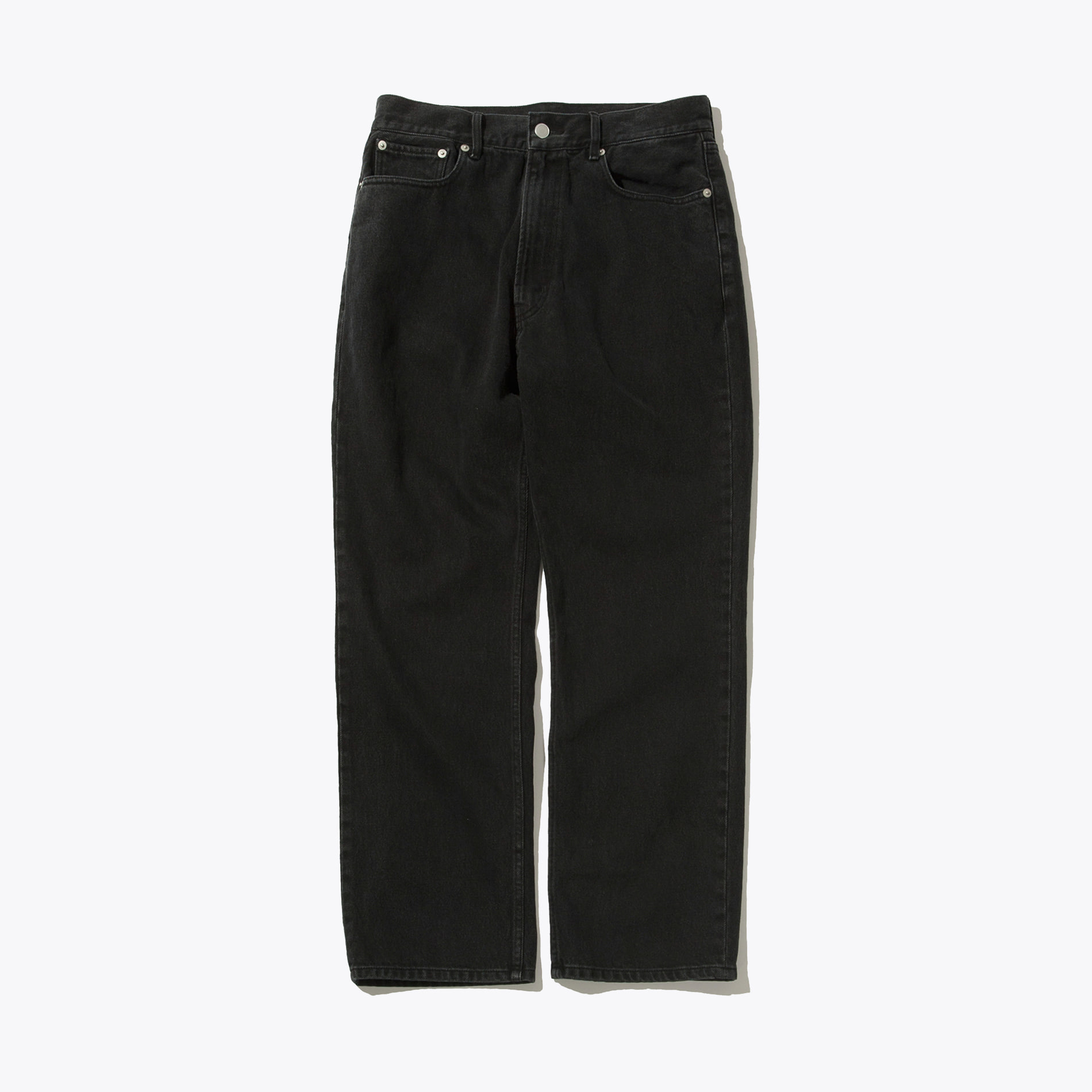 REGULAR DENIM PANTS BLACK