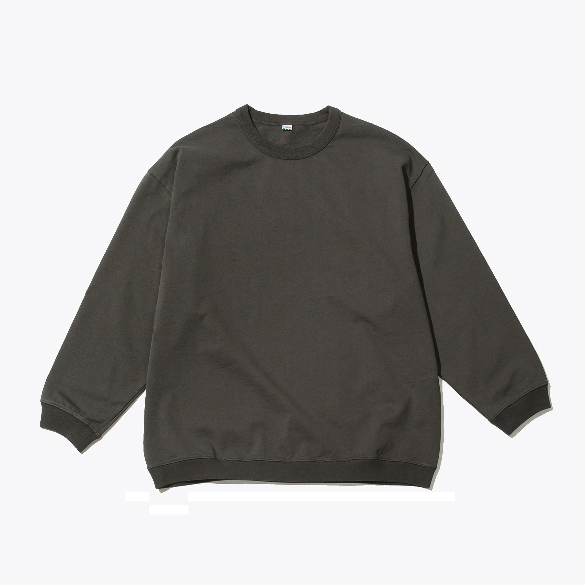 BAGGY SWEATSHIRT CHARCOAL