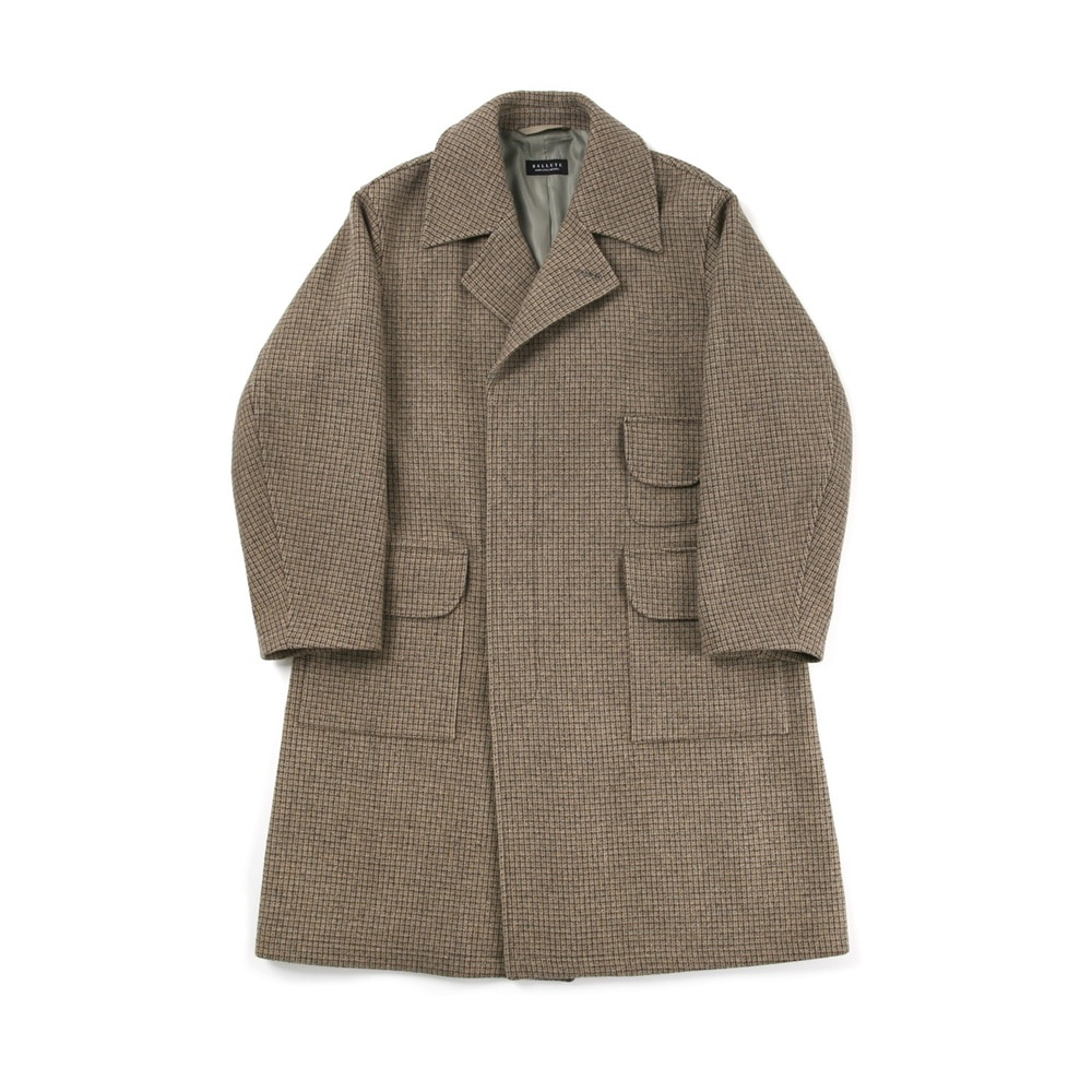 ALL WEATHER COAT ( BROWN CHECK )