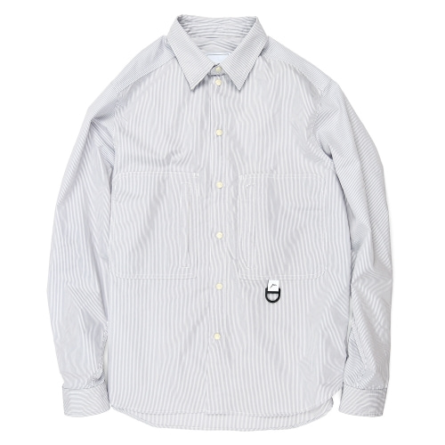 Striped Hiker Shirts / gray Stripe