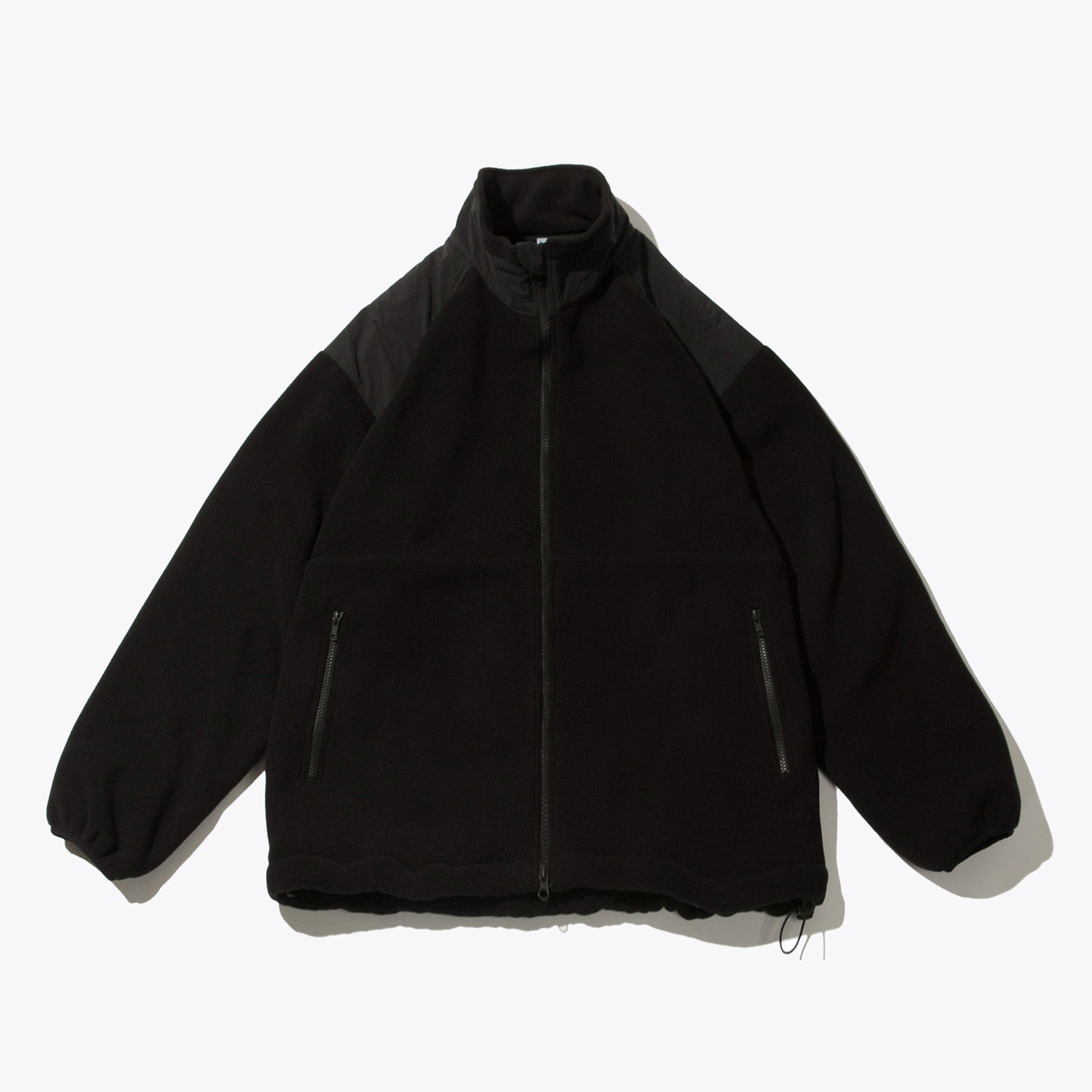 RAGLAN LINER JACKET BLACK
