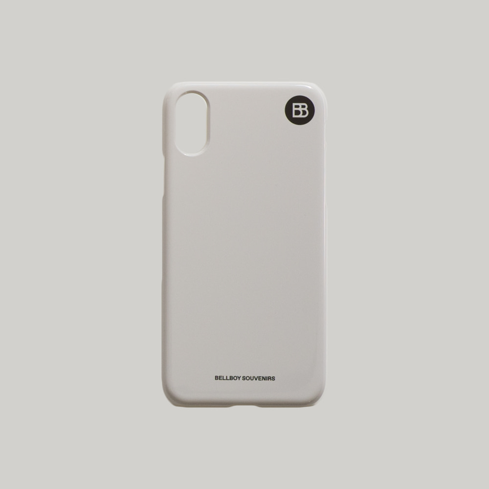 BB iphone case - Light Grey