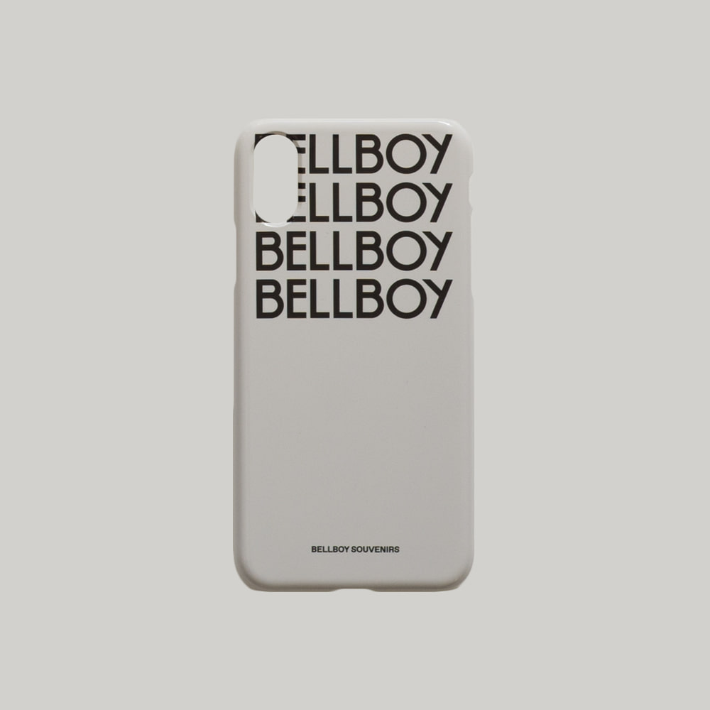 BELLBOY iPhone Case - Light Grey