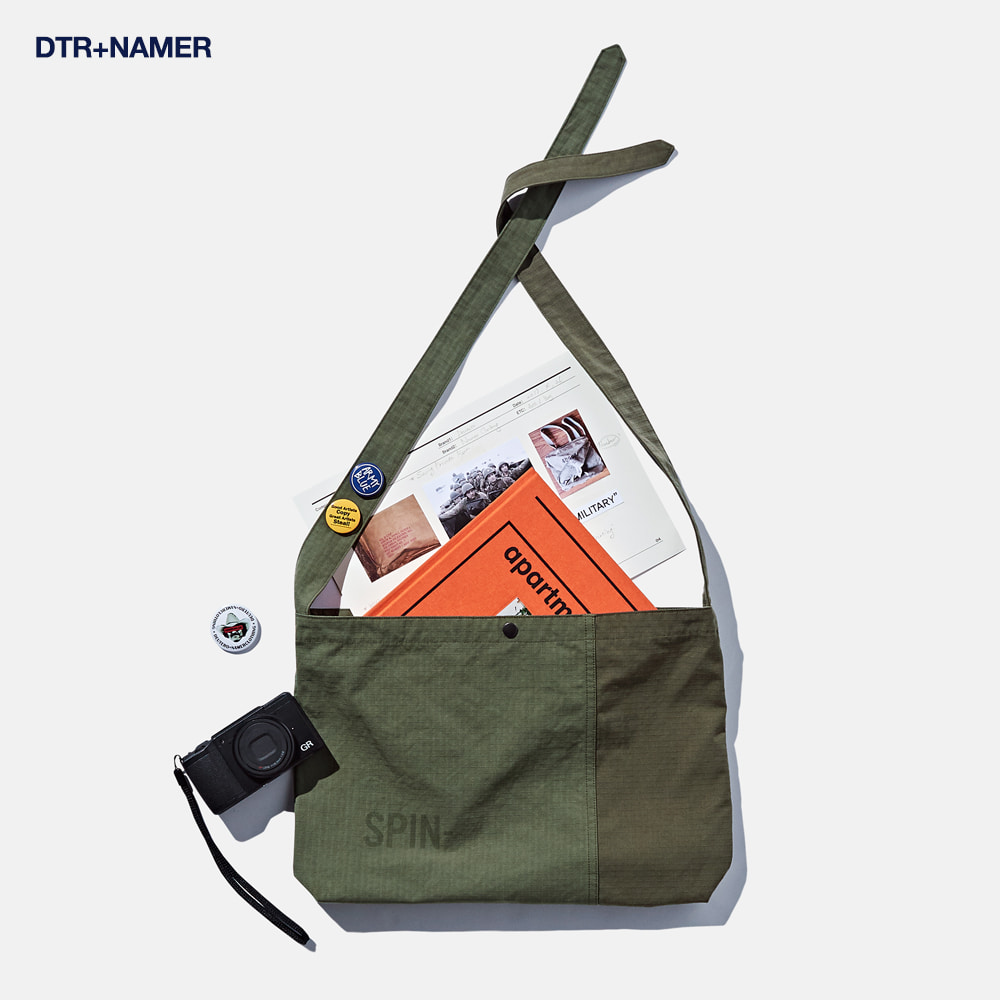 DTR1912 Spinoff Medical Bag 2Tone Olive