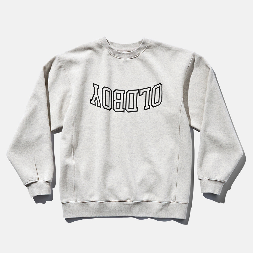DTR1918 90s Sweat Shirts Oldboy Melange Grey