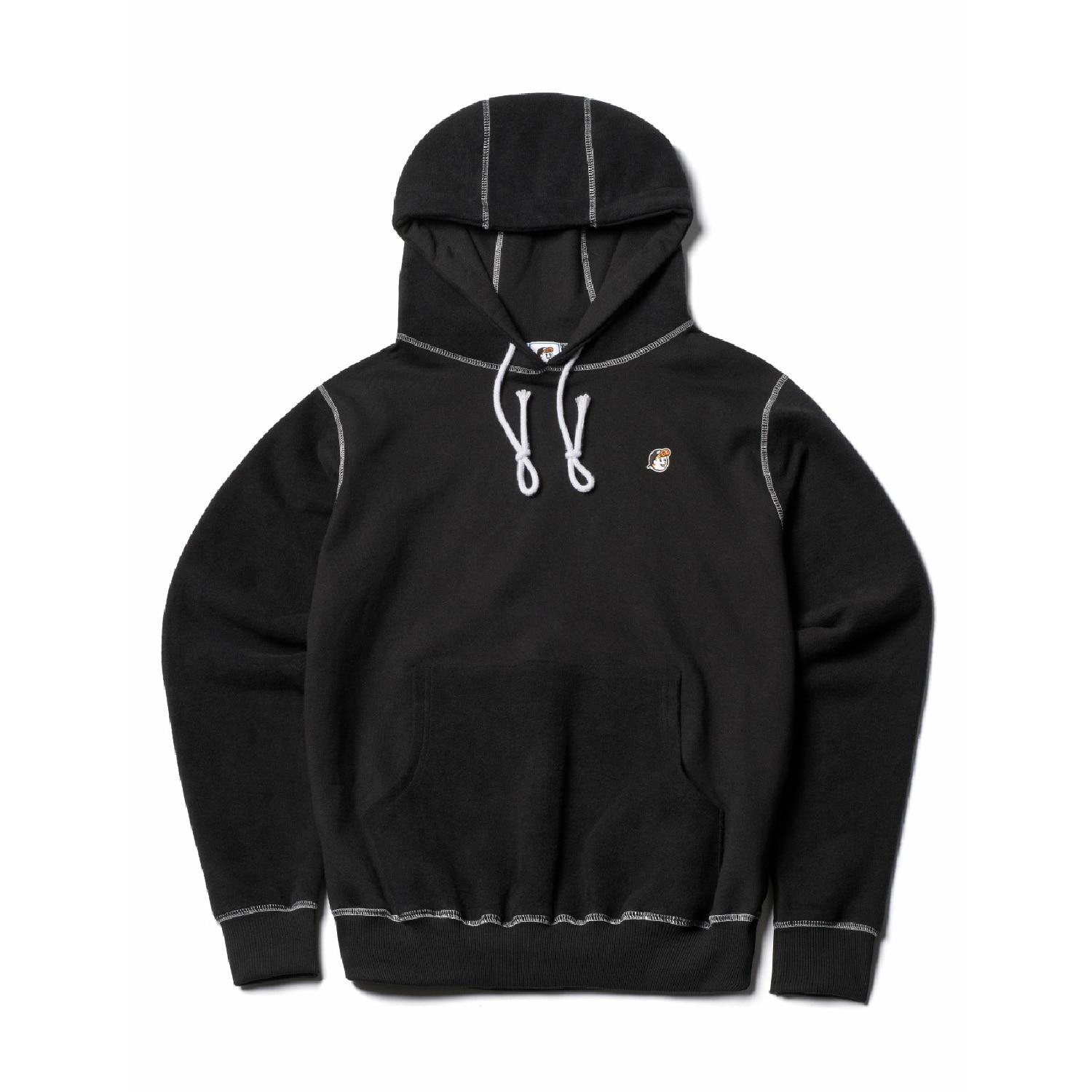 COLLEY POPOVER HOODY (BLACK)