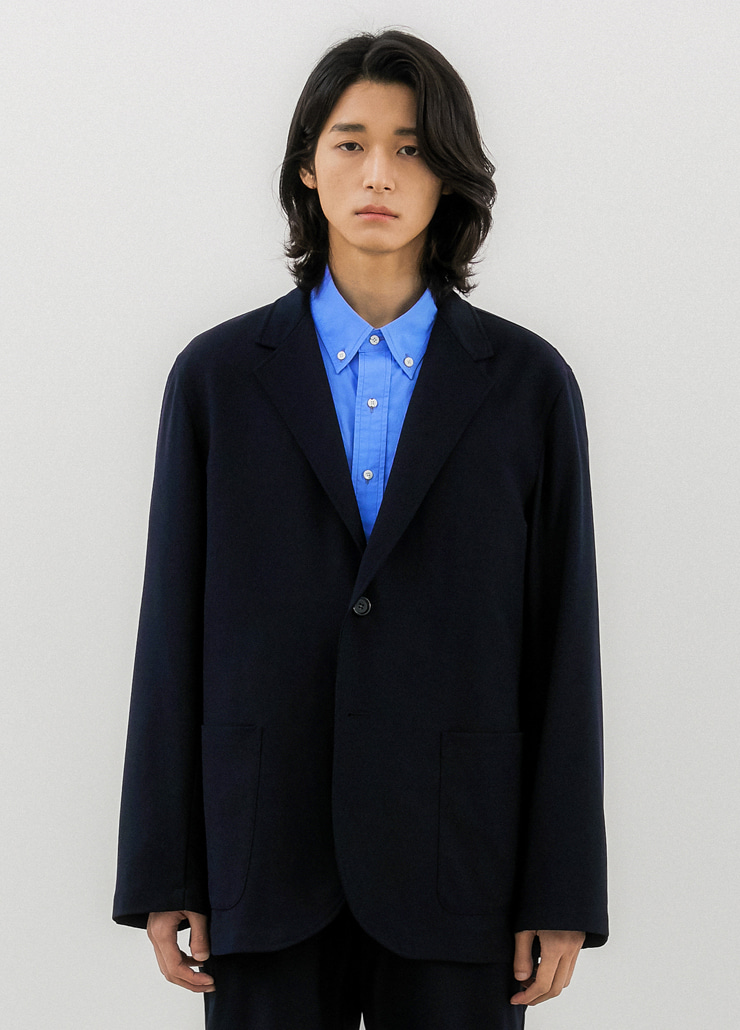 발루트셋업,ALL WEATHER STANDARD JACKET NAVY